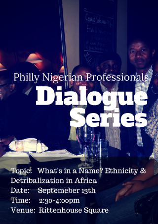 Philly Nigerian Professionals dialogue series 1