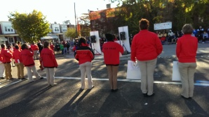 City Year members getting us reve
