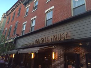 The venue: Bainbridge St. Barrel House