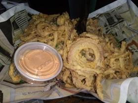 Onion rings. Yum!